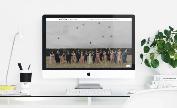 Shopify website build for Evolution Bridesmaids